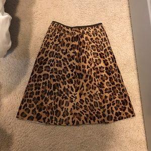 Prada Leopard Skirt Size 40